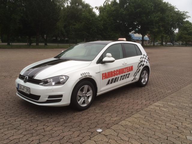 Fahrschule Cuxhaven: VW Golf 7, Diesel, 110 PS