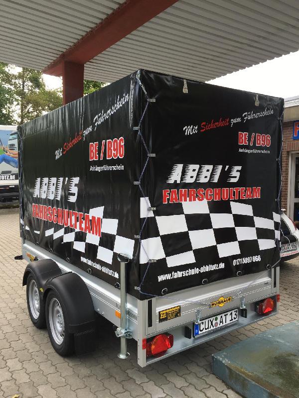 Fahrschule Cuxhaven: Fahrschulanhänger 2,5t