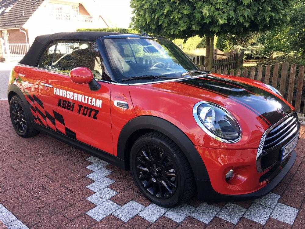 Fahrschule Cuxhaven: Mini Cabrio, 136 PS
