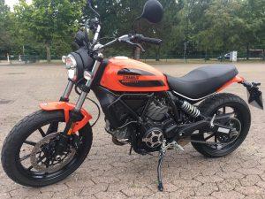 Fahrschule Cuxhaven: Ducati 400